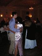 Faith and John dancing. Photographer: Frank Wang