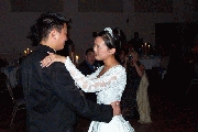 Carl and Jenny doing the Waltz Photographer: James Wang